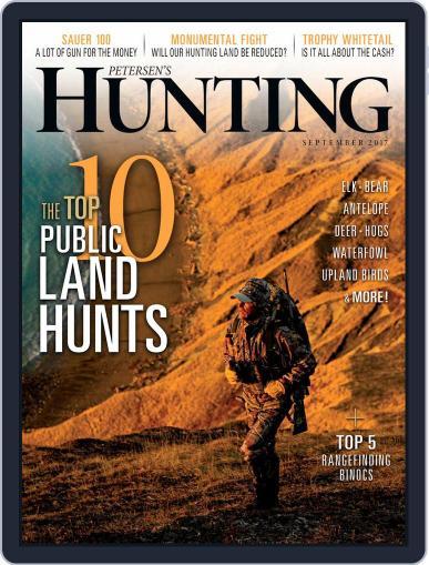 Petersen's Hunting (Digital) September 1st, 2017 Issue Cover