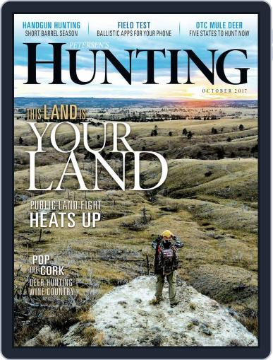 Petersen's Hunting (Digital) October 1st, 2017 Issue Cover
