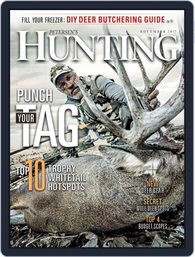 Petersen's Hunting (Digital) November 1st, 2017 Issue Cover