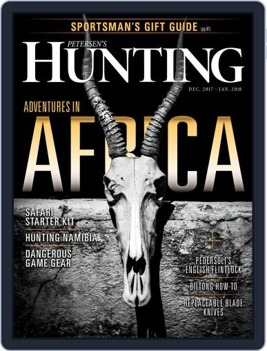 Petersen's Hunting (Digital) December 1st, 2017 Issue Cover