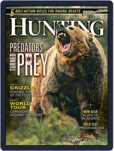 Petersen's Hunting (Digital) March 1st, 2018 Issue Cover