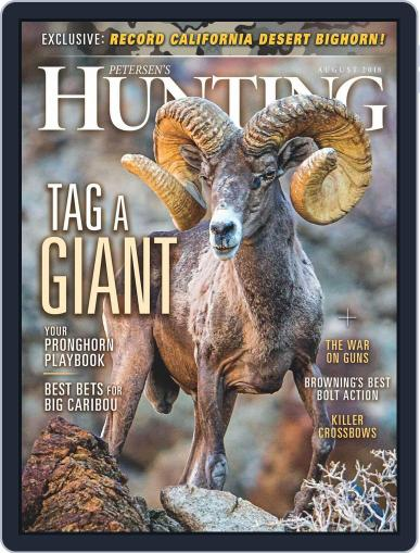 Petersen's Hunting (Digital) August 1st, 2018 Issue Cover