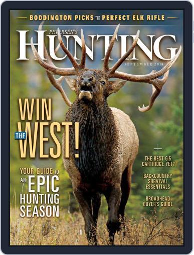Petersen's Hunting (Digital) September 1st, 2018 Issue Cover
