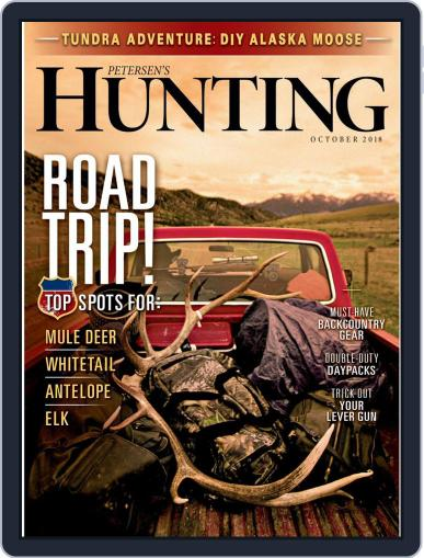 Petersen's Hunting (Digital) October 1st, 2018 Issue Cover