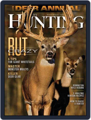 Petersen's Hunting (Digital) November 1st, 2018 Issue Cover
