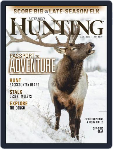 Petersen's Hunting (Digital) December 1st, 2018 Issue Cover