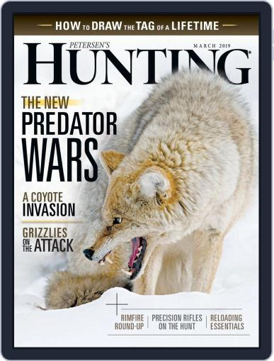 Petersen's Hunting (Digital) March 1st, 2019 Issue Cover