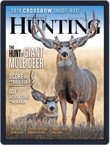 Petersen's Hunting (Digital) August 1st, 2019 Issue Cover