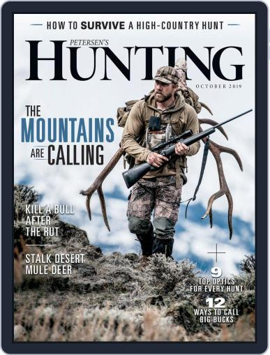 Petersen's Hunting (Digital) October 1st, 2019 Issue Cover