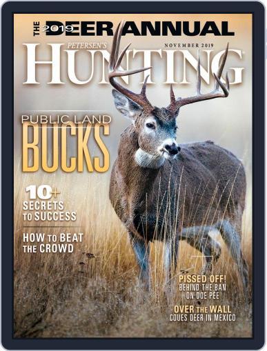 Petersen's Hunting (Digital) November 1st, 2019 Issue Cover