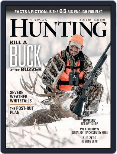 Petersen's Hunting (Digital) December 1st, 2019 Issue Cover