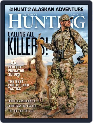 Petersen's Hunting (Digital) March 1st, 2020 Issue Cover