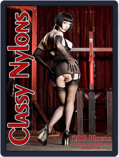 Classy Nylons Adult Photo (Digital) November 26th, 2017 Issue Cover