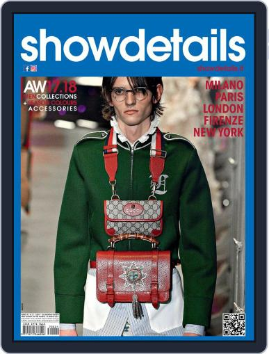 SHOWDETAILS MILANO+NEW YORK (Digital) April 1st, 2017 Issue Cover