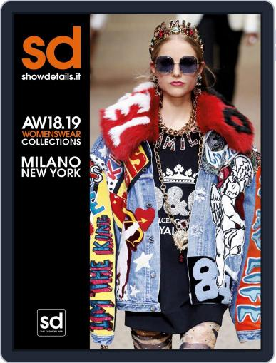 SHOWDETAILS MILANO+NEW YORK (Digital) March 31st, 2018 Issue Cover