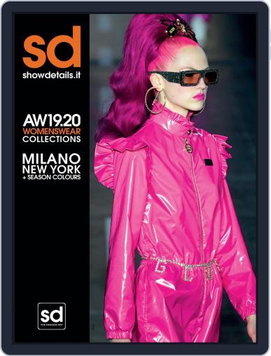 SHOWDETAILS MILANO+NEW YORK (Digital) March 28th, 2019 Issue Cover