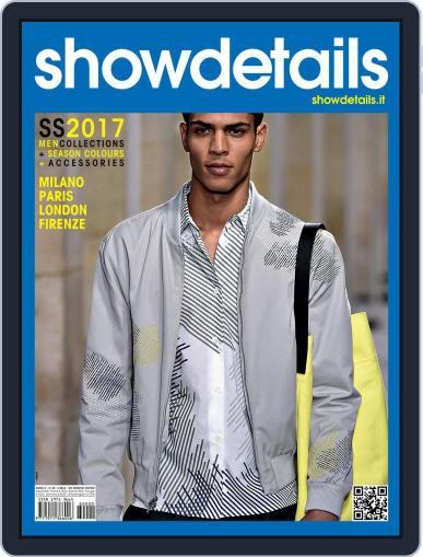 SHOWDETAILS MEN (Digital) January 1st, 2017 Issue Cover