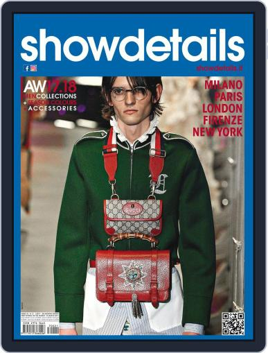 SHOWDETAILS MEN (Digital) March 1st, 2017 Issue Cover