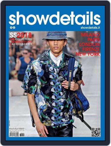 SHOWDETAILS MEN (Digital) October 1st, 2017 Issue Cover