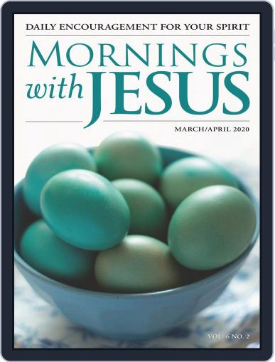 Mornings with Jesus (Digital) March 1st, 2020 Issue Cover