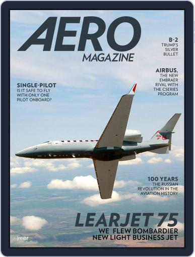 Aero Magazine International (Digital) January 1st, 2018 Issue Cover