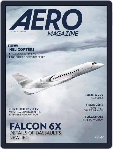 Aero Magazine International April 1st, 2018 Digital Back Issue Cover