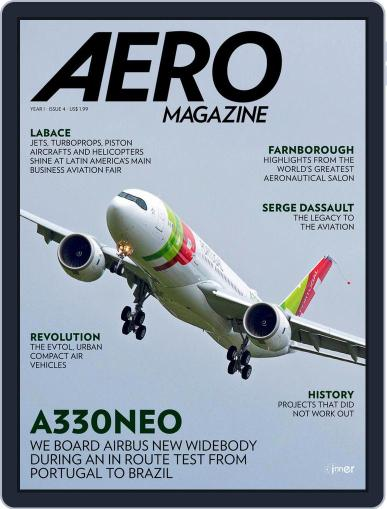 Aero Magazine International (Digital) August 22nd, 2018 Issue Cover