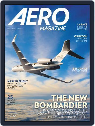 Aero Magazine International (Digital) September 1st, 2018 Issue Cover