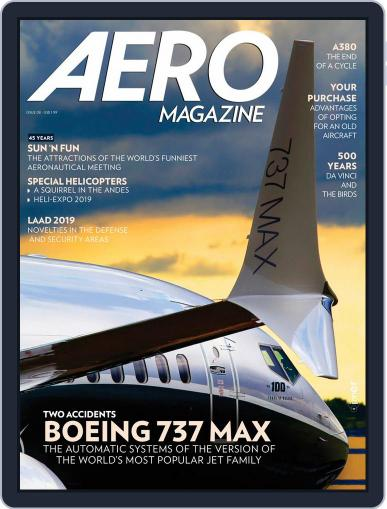 Aero Magazine International May 1st, 2019 Digital Back Issue Cover