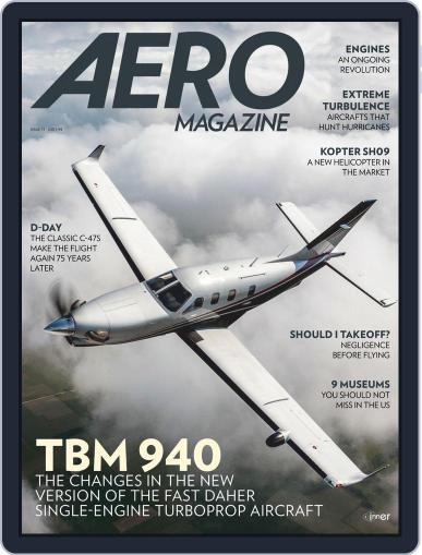 Aero Magazine International (Digital) October 1st, 2019 Issue Cover