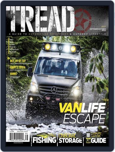 TREAD September 1st, 2017 Digital Back Issue Cover