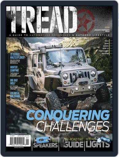 TREAD January 1st, 2018 Digital Back Issue Cover