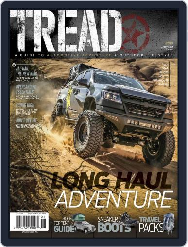 TREAD May 1st, 2018 Digital Back Issue Cover