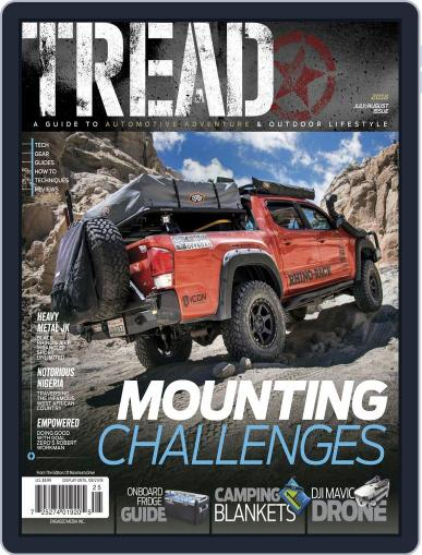 TREAD July 1st, 2018 Digital Back Issue Cover