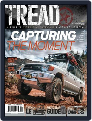 TREAD September 1st, 2018 Digital Back Issue Cover