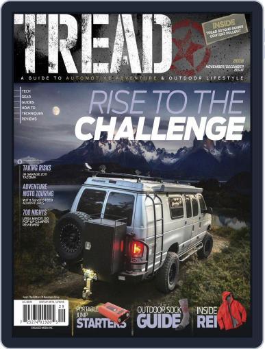 TREAD November 1st, 2018 Digital Back Issue Cover