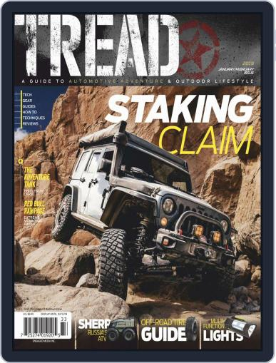 TREAD (Digital) January 1st, 2019 Issue Cover