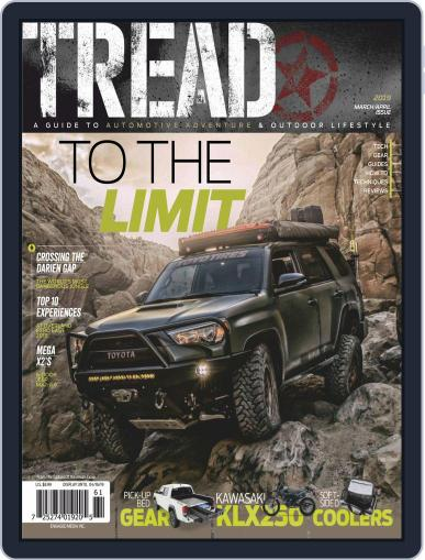 TREAD (Digital) March 1st, 2019 Issue Cover