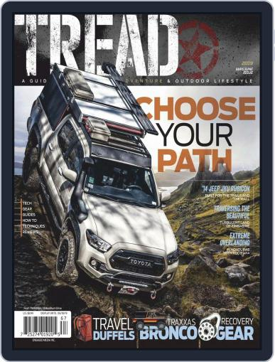 TREAD May 1st, 2019 Digital Back Issue Cover