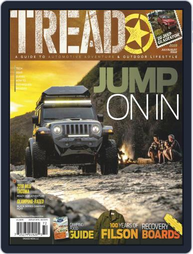 TREAD July 1st, 2019 Digital Back Issue Cover