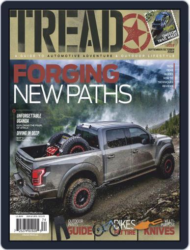 TREAD September 1st, 2019 Digital Back Issue Cover