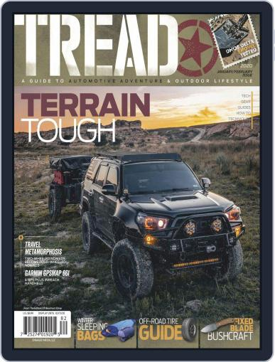 TREAD (Digital) January 1st, 2020 Issue Cover