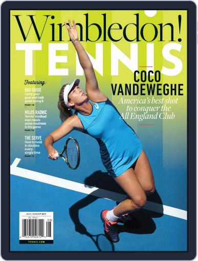 Tennis (digital) July 1st, 2017 Issue Cover