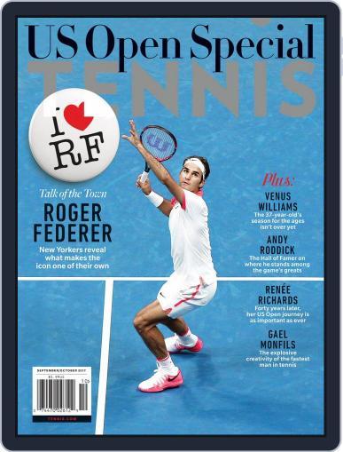 Tennis (digital) September 1st, 2017 Issue Cover