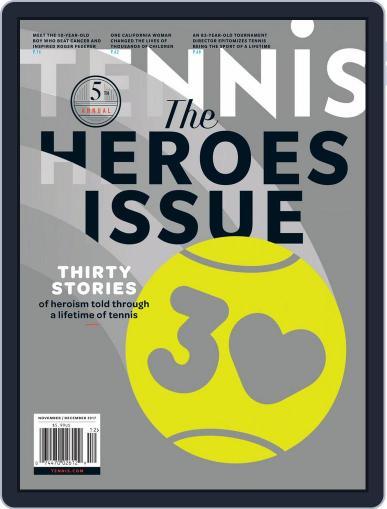 Tennis (digital) November 1st, 2017 Issue Cover