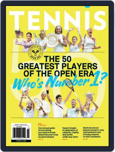 Tennis (digital) March 1st, 2018 Issue Cover