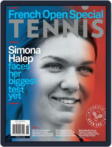 Tennis (digital) May 1st, 2018 Issue Cover