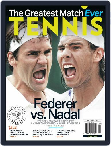Tennis (digital) July 1st, 2018 Issue Cover