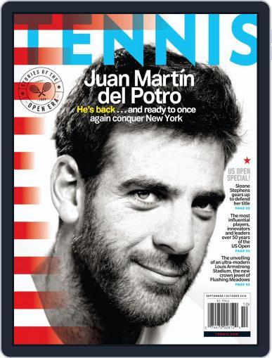 Tennis (digital) September 1st, 2018 Issue Cover