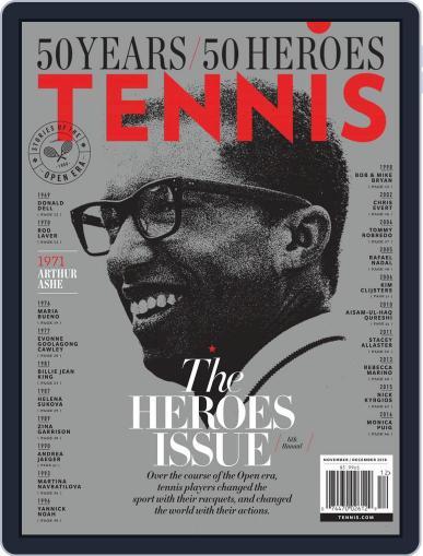 Tennis (digital) November 1st, 2018 Issue Cover